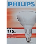 Clear Infra Red ES 240/250w hard glass bulb