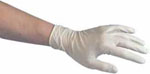 Powder-free Disposable Latex Gloves - Box of 100