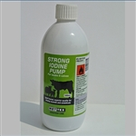 Iodine STRONG Solution with Pump - 500ml